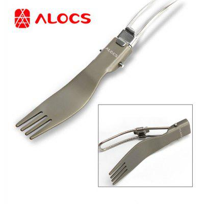 ALOCS TW-102 Ultra-light Folding Fork