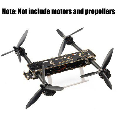 HMF SL300 300mm DIY Version 3K Carbon Plate Aluminum Kit Quadcopter