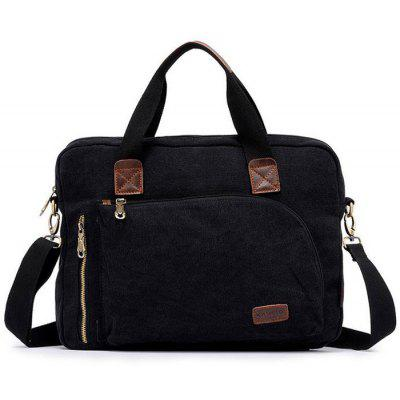 KAUKKO FJ24 11L Men Canvas Sling Bag