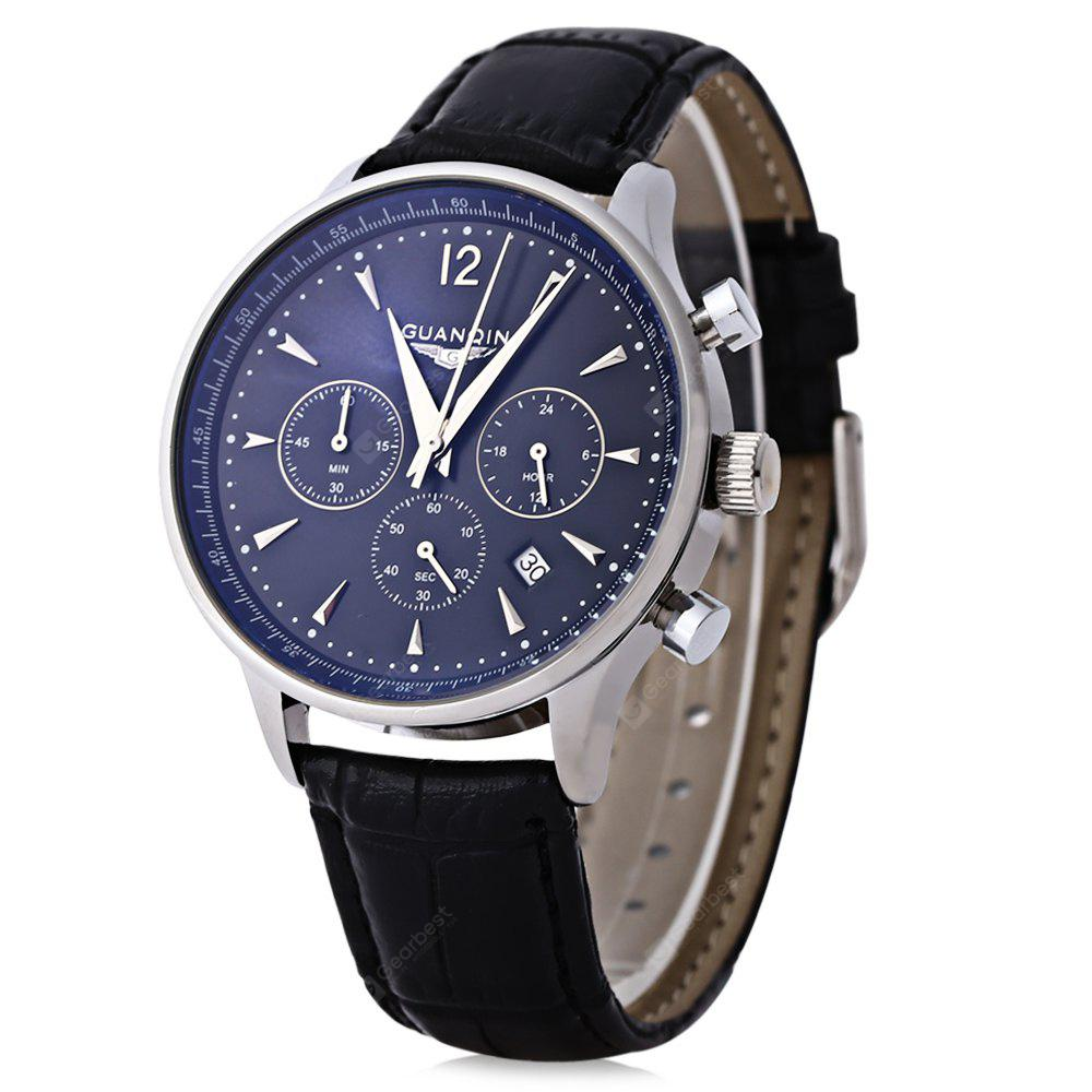 GUANQIN GQ001 Male Japan Quartz Watch