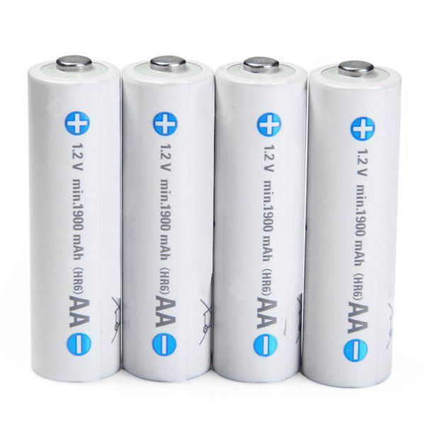 4 x  Eneloop 1.2V 1900mAh Rechargeable Ni-MH AA Battery for Electric Cigarette