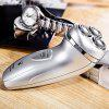 FLYCO FS330 3D Floating Revolving Shaver Electric Double-track Cutter - SILVER