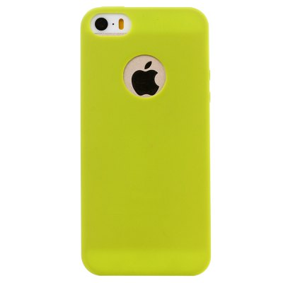 ASLING Ultra-thin Back Case Protector for iPhone 5 / 5S / SE TPU Material