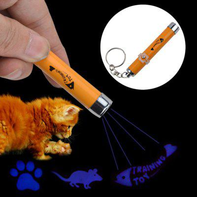 LED Laser Pointer Light Pet Cat Play Toy