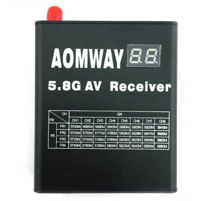 Spare Aomway RX004 5.8G 32CH Video Receiver / Antenna Set for FPV Project