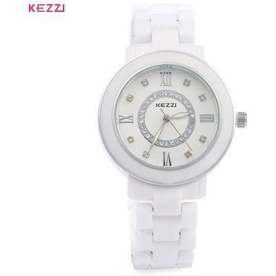 KEZZI 808 Ceramic Wristwatch Men Quartz Watch