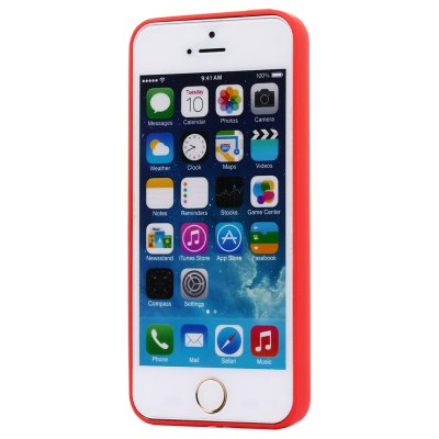 ASLING Ultra-thin Back Case Protector for iPhone 5 / 5S / SE TPU Material сотовый телефон meizu pro 7 64gb red