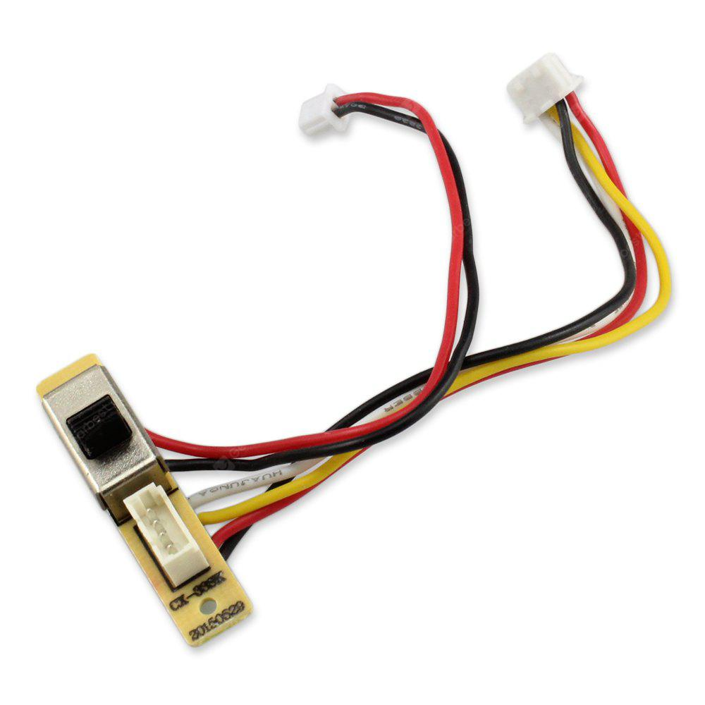 Spare Switch Board Fitting Cheerson CX - 33C CX - 33S RC Model - COLORMIX