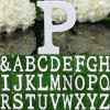 Creative Wooden English Letter Decors DIY Alphabet Craft Ornament photo