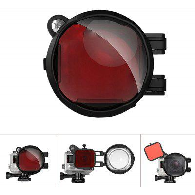 Fantaseal Diving Red Filter with 16X Close Amplifier Micro Lens