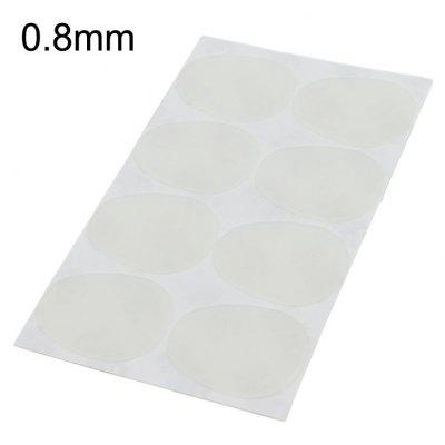 Alto Tenor Sax Transparent Mouthpiece Patch Pad - 8Pcs