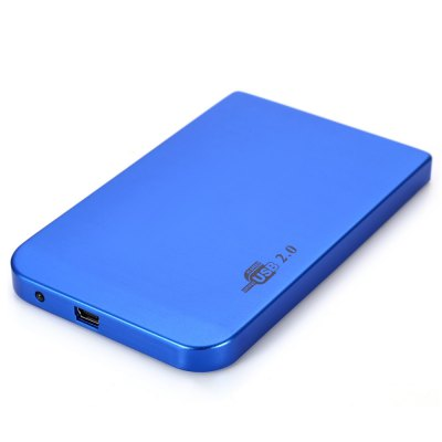 2.5 inch USB 2.0 IDE HDD Hard Drive Disk External Enclosure Case