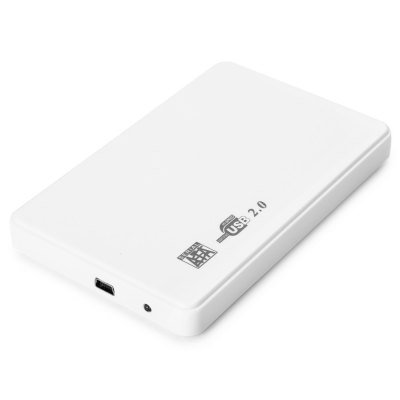 2.5 inch USB 2.0 SATA External Hard Drive Disk Case HDD Enclosure