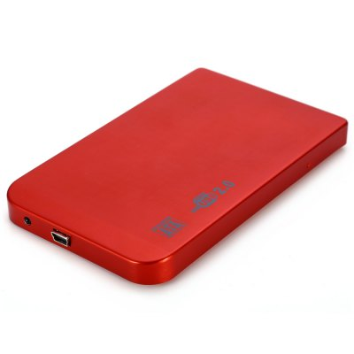 2.5 inch USB 2.0 SATA HDD Hard Drive Disk External Enclosure Case