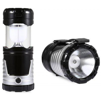 LED Collapsible USB Solar Camping Light