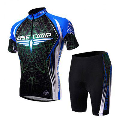 BASECAMP BC-522 Men Summer Cycling Jersey Set