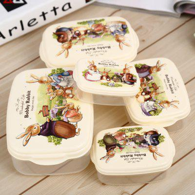 5PCS PP Lunch Box