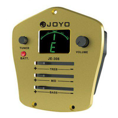 JOYO JE - 308  3 Band Equalizer with Tuner Music Instrument Accessory