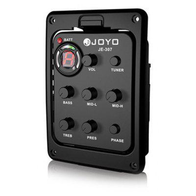 Buy BLACK JOYO JE 307 5 Band Equalizer with Tuner Music Instrument Accessory for $24.56 in GearBest store