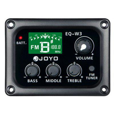 JOYO EQ - W3  3 Band Equalizer with Tuner Music Instrument Accessory