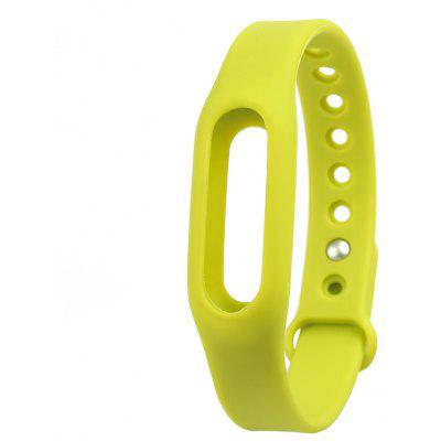 Buy Silicone Band Strap Wristband for Xiaomi Miband GREEN for $4.45 in GearBest store
