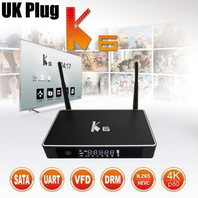K6 Smart TV Streaming Media Box Android