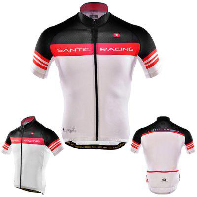 Santic Male Summer Cycling Short Sleeves