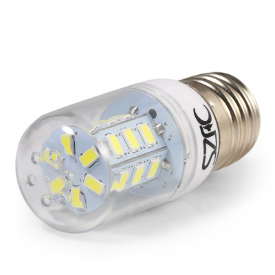 5pcs SZFC 3W E27 SMD 5730 280LM LED Corn BulbCorn Bulbs<br>5pcs SZFC 3W E27 SMD 5730 280LM LED Corn Bulb<br><br>Available Light Color: White,Warm White<br>Brand: SZFC<br>CCT/Wavelength: 3000K,6000K<br>Emitter Types: SMD 5730<br>Features: 80% Brightness, Long Life Expectancy, Energy Saving<br>Function: Studio and Exhibition Lighting, Commercial Lighting, Home Lighting<br>Holder: E27<br>Luminous Flux: 280Lm<br>Output Power: 3W<br>Package Contents: 5 x SZFC E27 LED Corn Bulb<br>Package size (L x W x H): 9.00 x 9.30 x 6.20 cm / 3.54 x 3.66 x 2.44 inches<br>Package weight: 0.155 KG<br>Product size (L x W x H): 7.90 x 3.10 x 3.10 cm / 3.11 x 1.22 x 1.22 inches<br>Product weight: 0.024KG<br>Sheathing Material: Plastic<br>Total Emitters: 24<br>Type: Corn Bulbs<br>Voltage (V): AC 220-240
