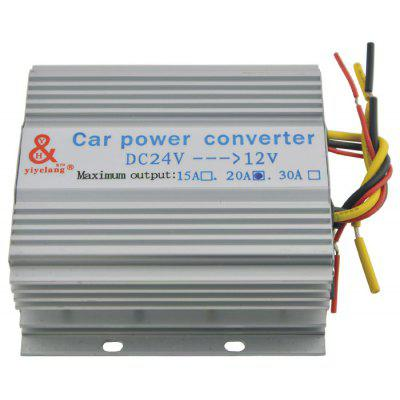 20A DC 24V to DC 12V Car Power  Converter