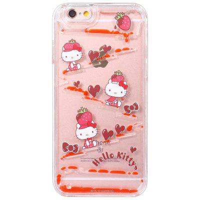 Sanrio Hello Kitty 3D Liquid Flow Protective Case for iPhone 6 / 6S