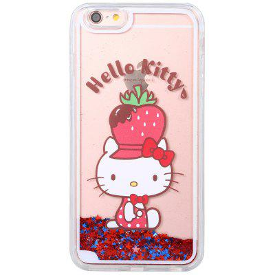 Sanrio Hello Kitty 3D Quicksand Cover Case for iPhone 6 / 6S