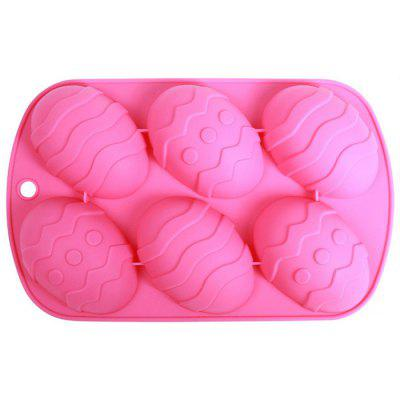 Silicone Easter Eggs Pattern DIY Baking Mold