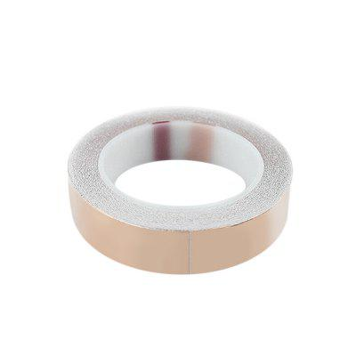 25mm x 30m Copper Foil TapeGuitar Parts<br>25mm x 30m Copper Foil Tape<br><br>Materials: Copper<br>Package Contents: 1 x Copper Foil Tape<br>Package size: 15.00 x 10.00 x 5.00 cm / 5.91 x 3.94 x 1.97 inches<br>Package weight: 0.270 kg<br>Suitable for: Guitar<br>Type: Tape
