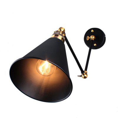 Retro Swing Arm Wall Light Sconce E27 Holder