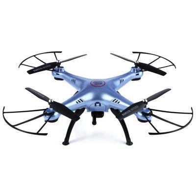Syma X5HW WiFi FPV 0.3 Mega Pixel Camera 2.4G 4 Channel 6-axis Gyro Quadcopter RTF Image