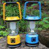 AOTU LSC-9028 Solar USB Rechargeable Camping Lantern - BLUE