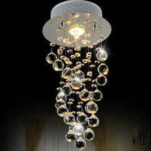 LightMyself Crystal Drops LED Chandelier