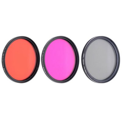 Fat Cat Lens Adapter / CPL / 58mm Red Rose FilterAction Cameras &amp; Sport DV Accessories<br>Fat Cat Lens Adapter / CPL / 58mm Red Rose Filter<br><br>Accessory type: Filters<br>Apply to Brand: Gopro<br>Compatible with: Gopro Hero 3 Plus, Gopro Hero 4<br>Material: PC, Nylon, Glass, Alluminum Alloy<br>Package Contents: 1 x 58mm Lens Converter, 1 x 58mm CPL Filter, 1 x 58mm Red Filter, 1 x 58mm Rose Filter, 1 x 58mm Lens Cap, 1 x Portable Foldaway 3-Pockets Anti-Shock Bag<br>Package size (L x W x H): 22.00 x 16.00 x 7.00 cm / 8.66 x 6.30 x 2.76 inches<br>Package weight: 0.150 kg<br>Product size (L x W x H): 4.00 x 10.00 x 3.00 cm / 1.57 x 3.94 x 1.18 inches<br>Product weight: 0.090 kg