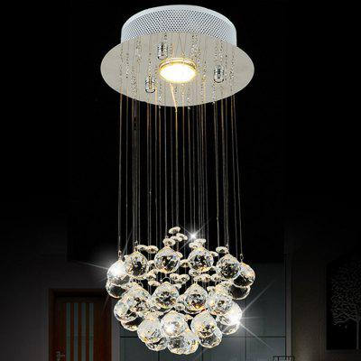 LightMyself Crystal Rain Drops LED Chandelier