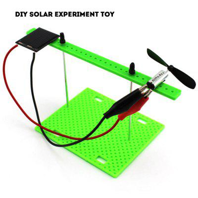 DIY Solar Power Experiment A1 Toy Simple Model Science Toy with Solar Panel