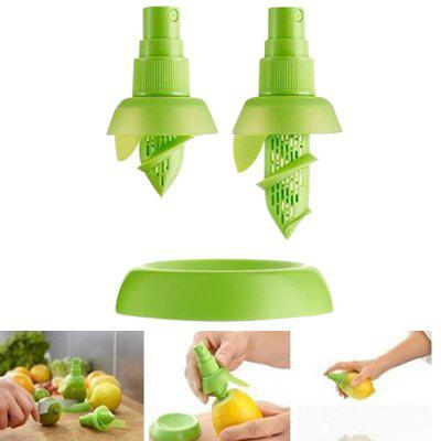 2PCS Multi-purpose Citrus Sprayer Mini Orange Juice Extractor
