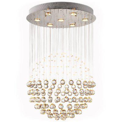 LightMyself Crystal Sphere Chandelier Light