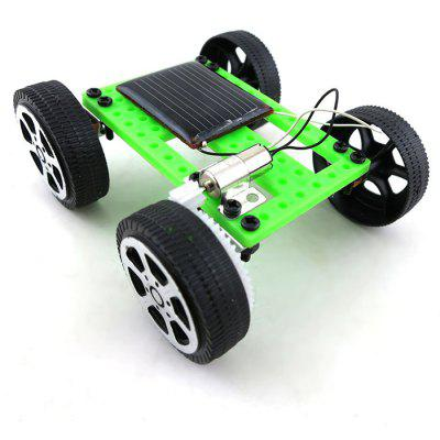 Mini No.2 DIY Solar Powered Car Simple Model Science Toy Children Educational Gadget Hobby Robot Fun