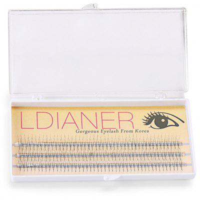 10mm 30 Pairs Crossover Design Thick Makeup Eyelashes
