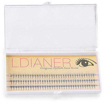 8mm 30 Pairs Crossover Design Thick Artificial Eyelashes