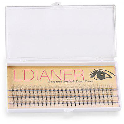 8mm 30 Pairs Crossover Design Beauty Thick Makeup Fake Eyelashes