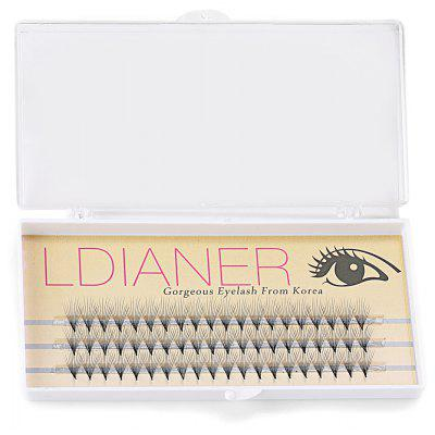 8mm 30 Pairs Crossover Design Professional Thick Makeup Fake Eyelashes