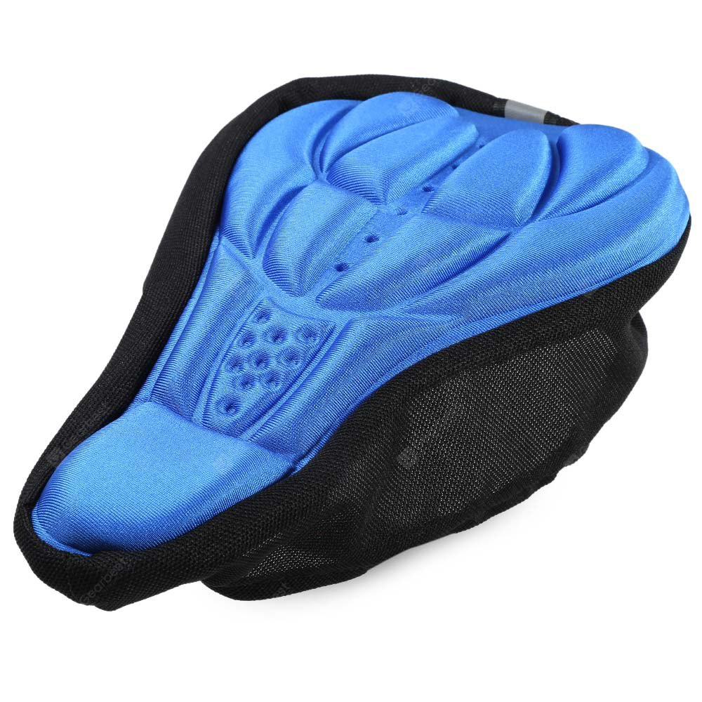 Bicycle 3D Breathable Saddle Padded Silicone Cushion
