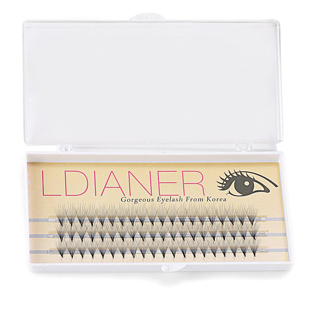 8mm 30 Pairs Crossover Design Artificial Eyelashes