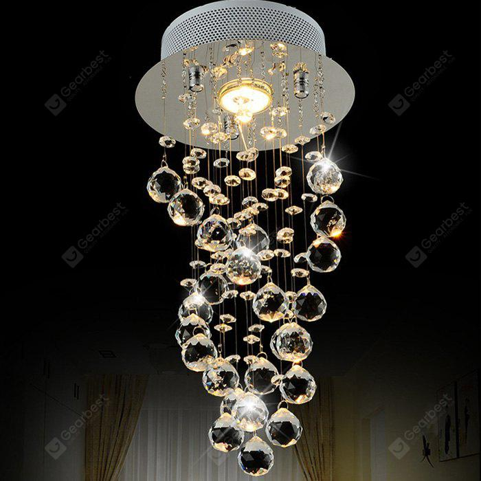 Lightmyself Crystal Drops Led Chandelier 38 78 Free